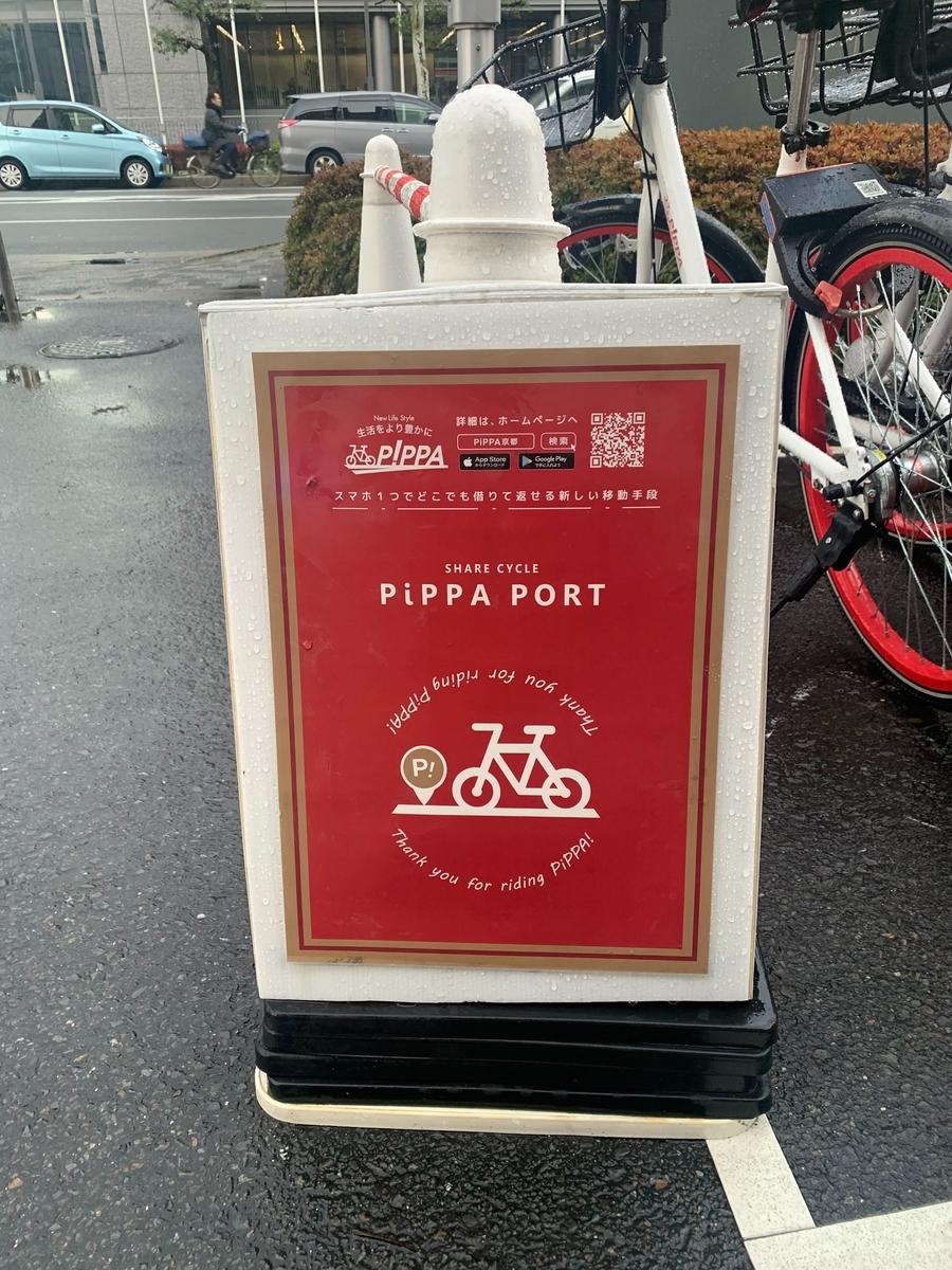 PiPPAのポート看板