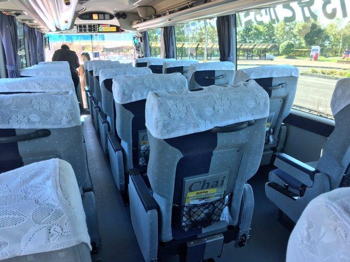 三列シートの良いバス