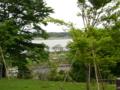 [我孫子]高野山桃山公園から見た手賀沼