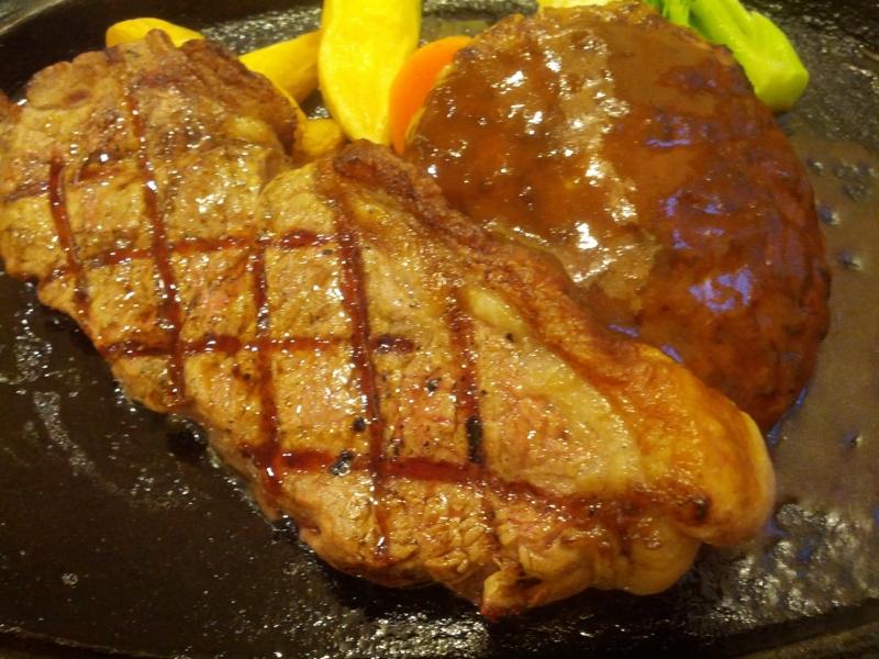 サーロインステーキ&ハンバーグ