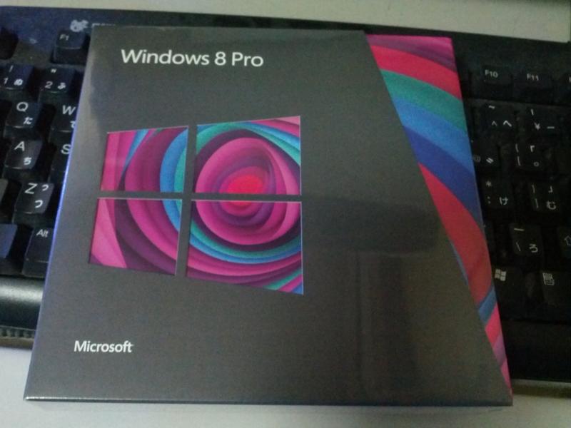 我が家に Windows 8 がやってきた
