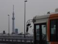 [東京スカイツリー][1日1スカイツリー]都バスを入れてみようとがんばった結果…
