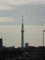 [東京スカイツリー][1日1スカイツリー]雲がスカイツリーからの電波のイメージ