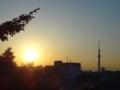 [東京スカイツリー][1日1スカイツリー]帰る時間がちょうど日暮れになる季節