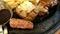 肉の万世 ツートップステーキセット