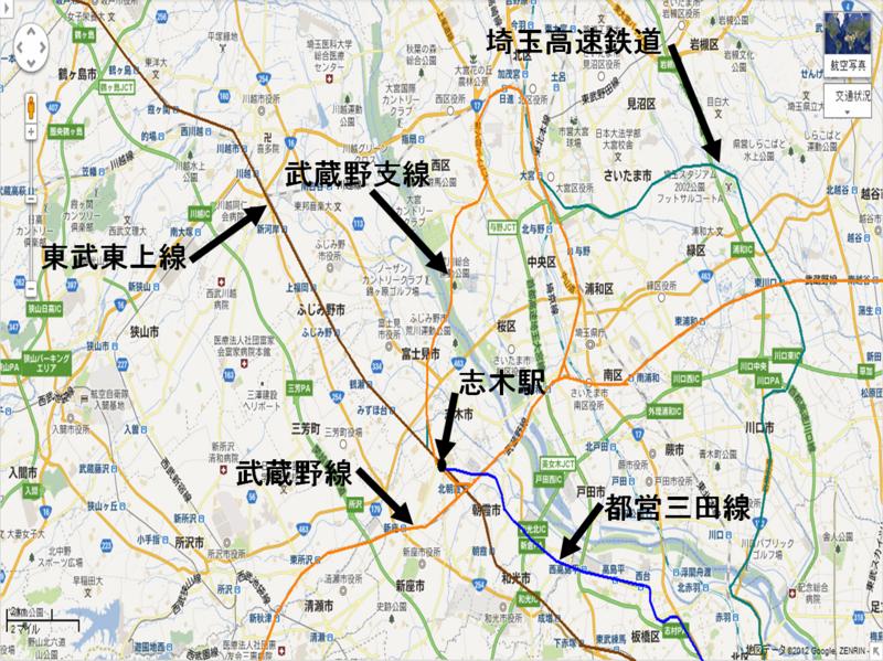 「三田線 北朝霞駅延伸」の画像検索結果