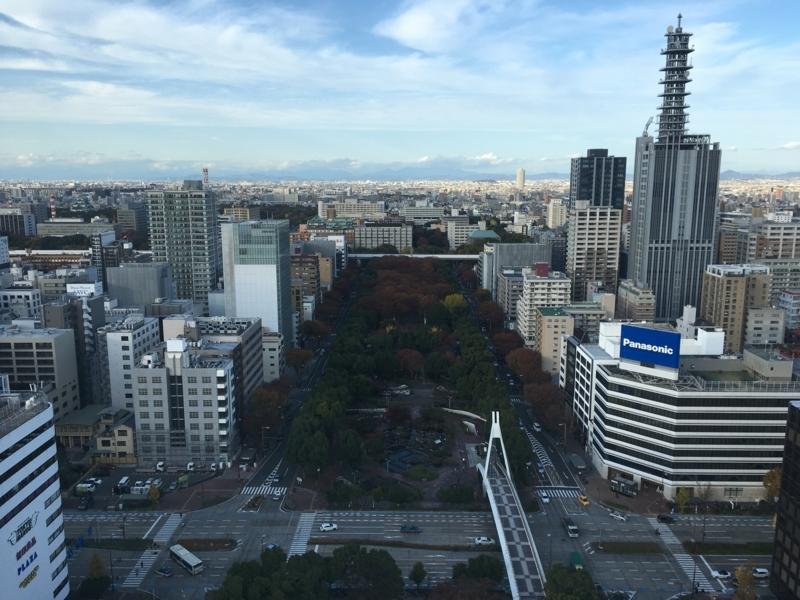テレビ塔からの景色
