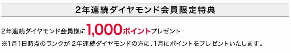 セシール(CECILE) ダイヤモンド会員限定特典
