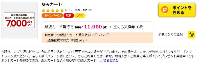 楽天カードはポイントサイト経由がおすすめ!ポイントサイト経由で最大18000円近いポイントが貰える!