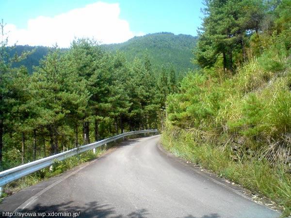 登山道といってもしばらくは舗装された坂道を登るだけ。