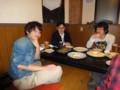 2010年追いコン 1次会@銀の月 顧問I先生&キノピー&青ちゃん