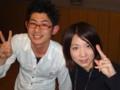 2010年追いコン 1次会@銀の月 3 マーシー&ゆー
