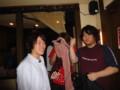 2010年追いコン 2次会@Bar Toraja 1 さわ&たぴお&なんしとん