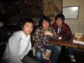 2010年追いコン 2次会@Bar Toraja 2 マヨ&青ちゃん&お掃除係