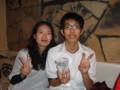 2010年追いコン 2次会@Bar Toraja 5 なっちゃん&マジシャン