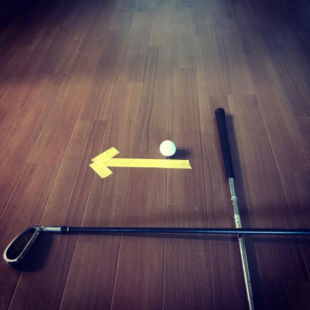 ゴルフ スタンス スクエア