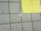 御器所駅の桜通線ホームに謎の測量結果らしきテープが。ホームドアに
