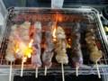 [twitter] 美味しい焼き鳥食べたい!今日は行かれないから焼いてみる( ̄▽ ̄)