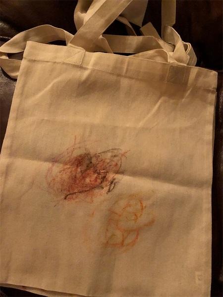 朝陽ちゃんのバッグ
