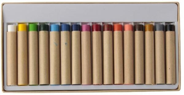 布描きクレヨン16色