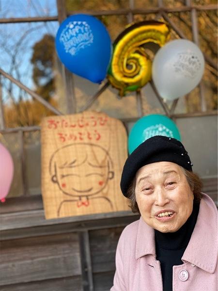 次はばあちゃんの誕生日会だなっ