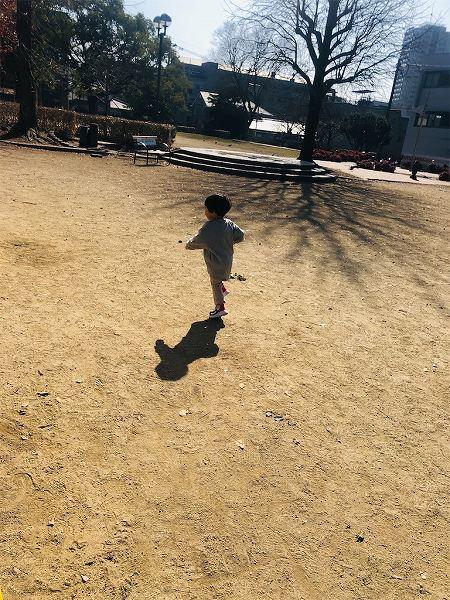 公園楽しーい!!と走り回ってくれました♡ママ幸せ♡