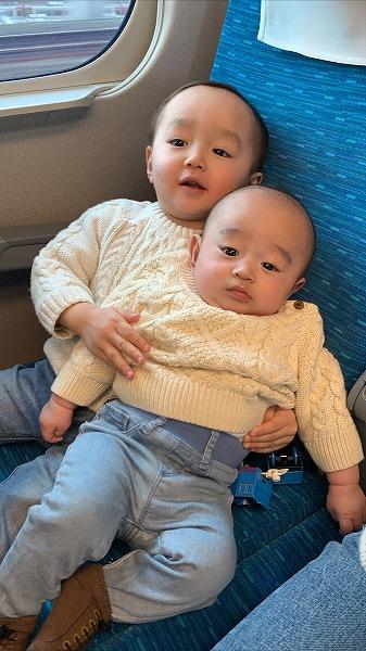 先日家族で大阪に🚅✨