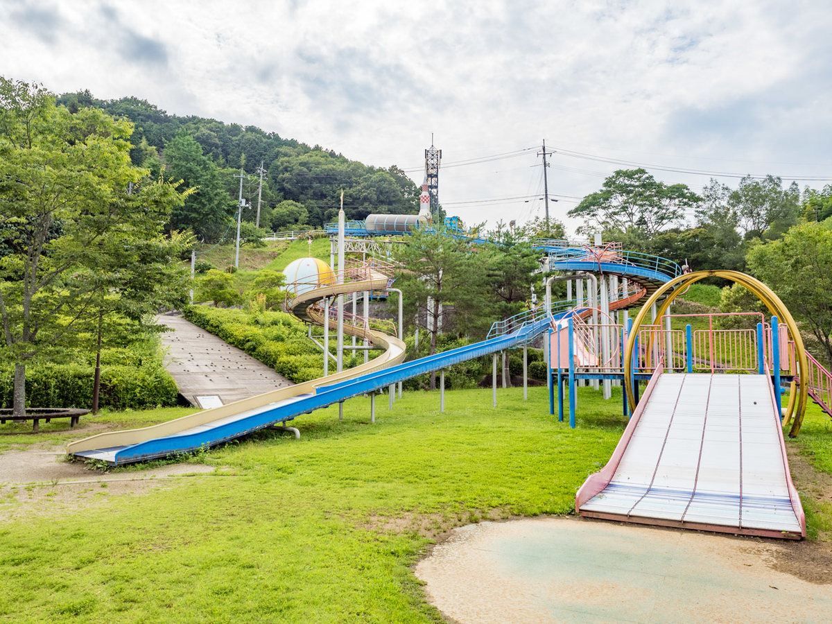 美咲中央運動公園の遊具