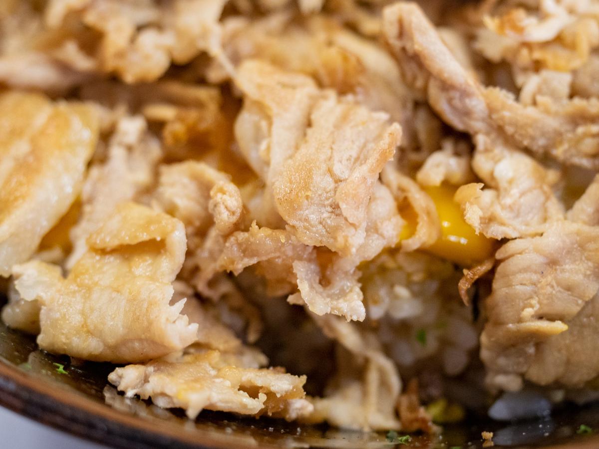 肉玉ライス(醤油)