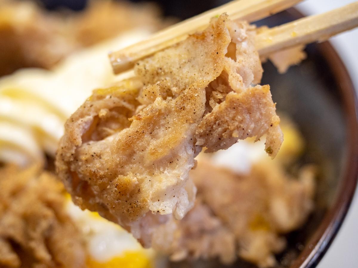 肉玉ライス(塩コショウ)