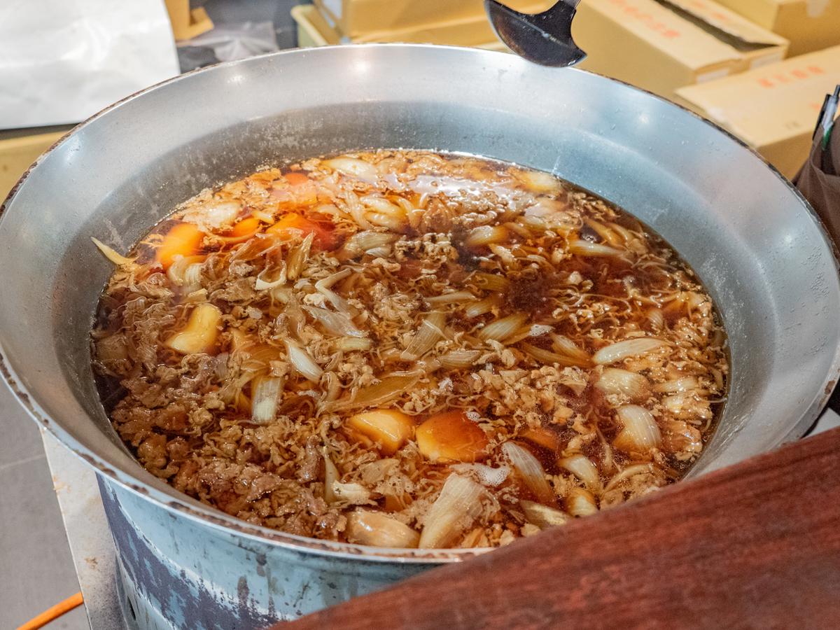 呉ハイカラ食堂の大鍋