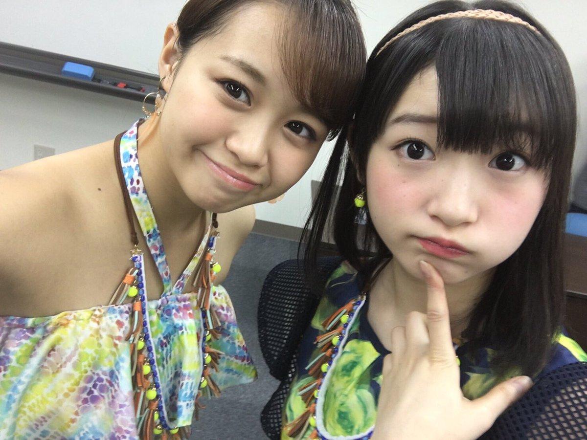 Juice=Juice 高木紗友希ちゃんと宮本佳林ちゃん
