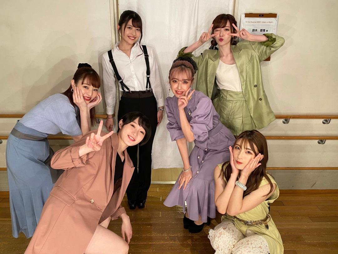 M-line Special 2021 〜Make a Wish! 〜 めぐろパーシモンホール 金澤さんブログより集合写真