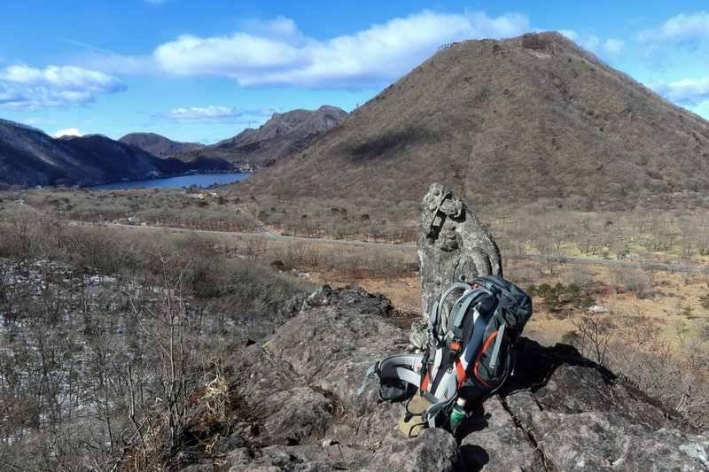 スルス岩へ。ここからの眺めは最高だ。