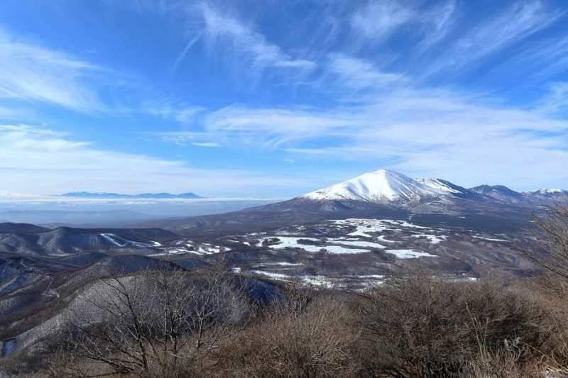 稜線に出てからの眺望は期待を裏切りません。