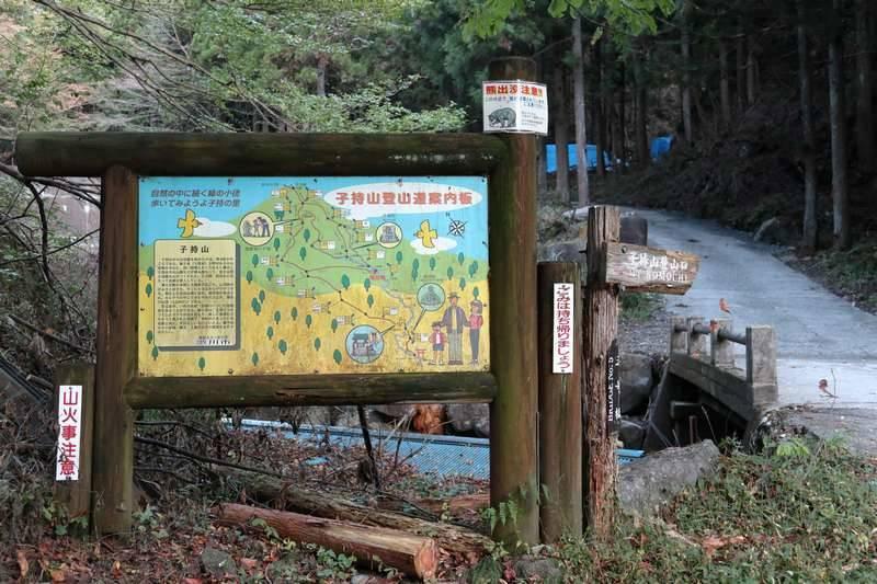 7号橋付近の登山口からスタート。