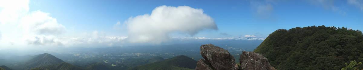 山頂からの大パノラマ!