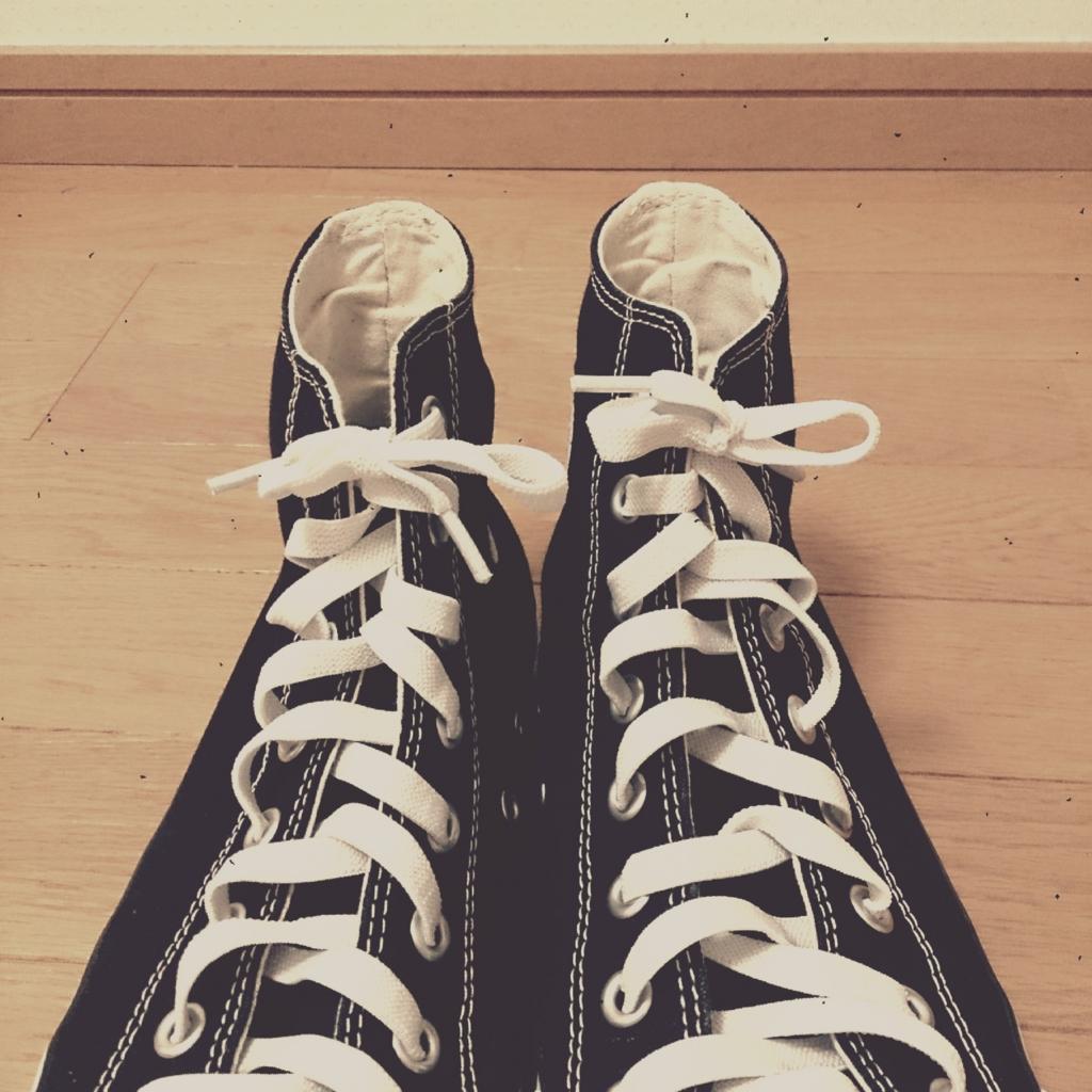 100 均 紐 靴