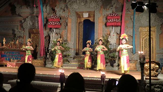 ウブドの魅力・伝統舞踊
