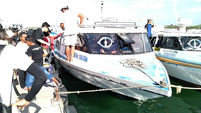 高速艇の写真