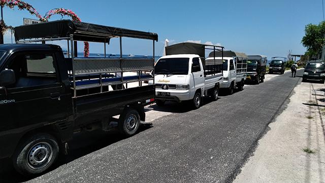 レンボンガン島のトランスポート