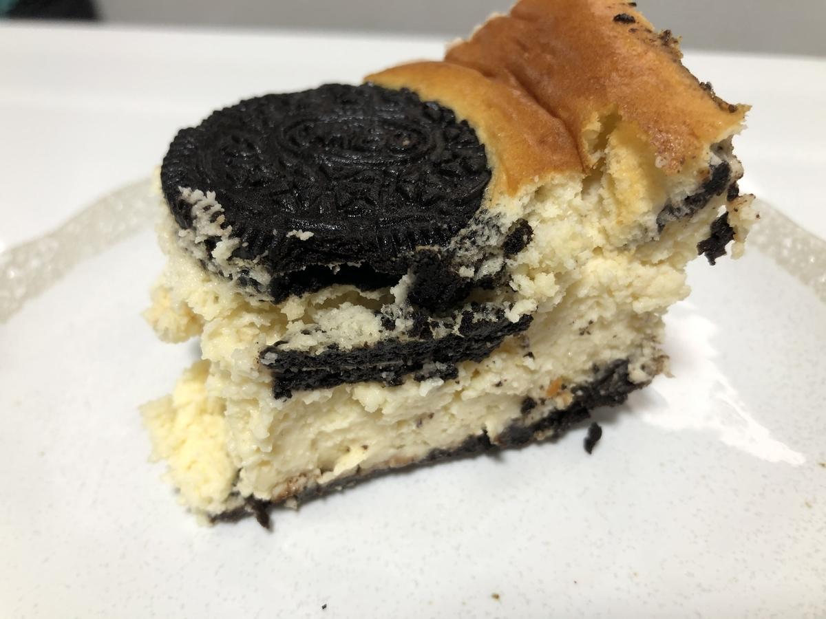 しぼんだオレオチーズケーキ