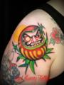 達磨・だるま 刺青・タトゥーデザイン・画像の紹介 daruma tattoo