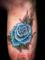 バラ タトゥーデザイン 花・植物 flower tattoo