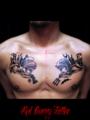 タトゥーデザイン 天使 悪魔