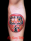 達磨・ダルマのタトゥーデザイン daruma tattoo