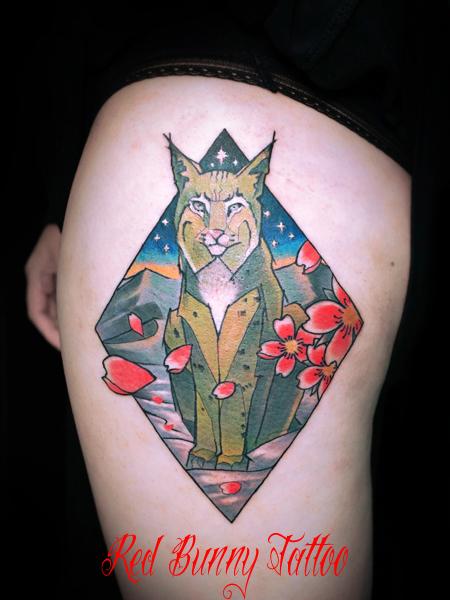 動物のタトゥーデザイン