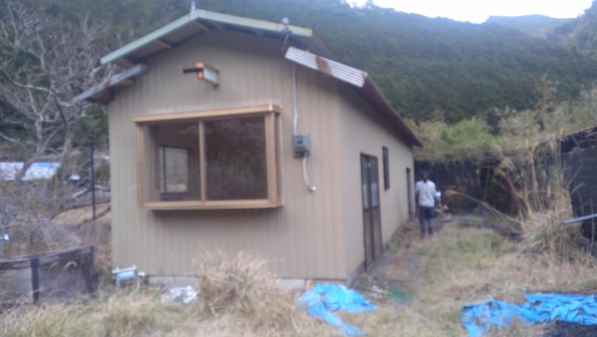 荒地の小屋に住む人募集の画像