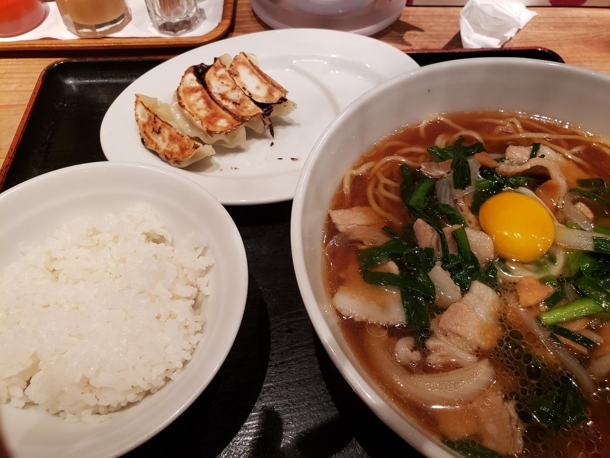歌舞伎町小次郎スタミナラーメンセット