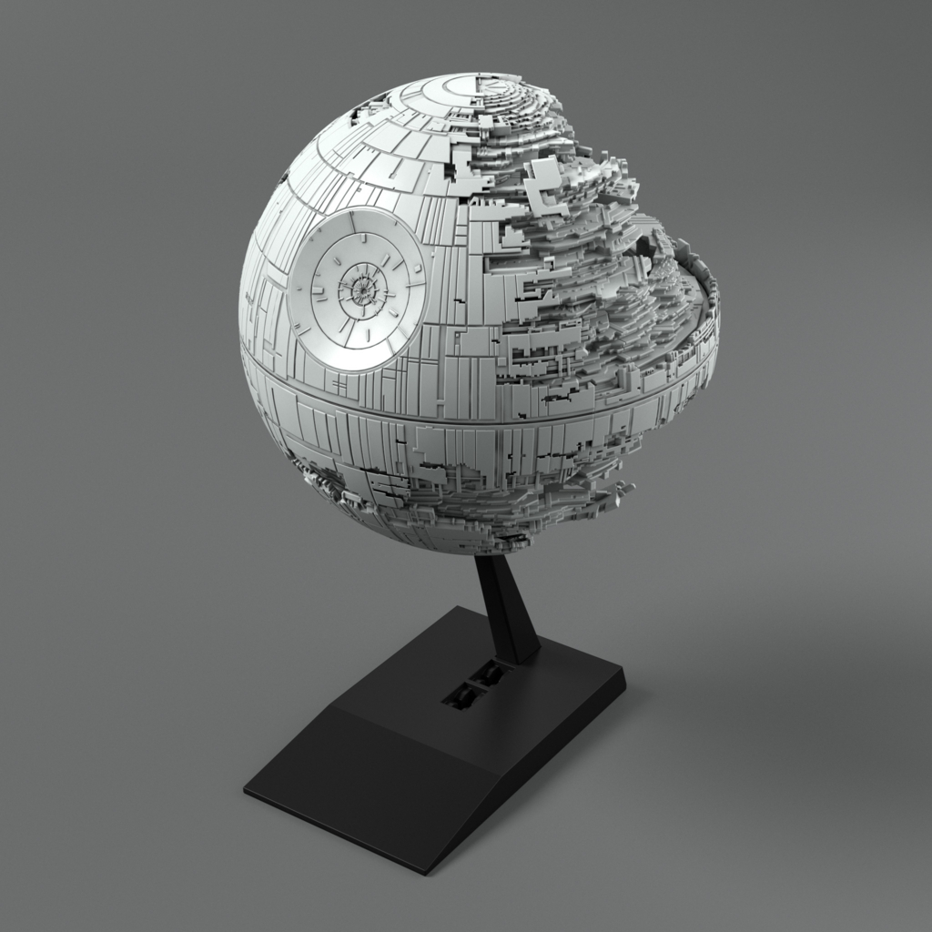 【SW】果たしてビークルなのか!?「ビークルモデル 013 デス・スターⅡ」商品化決定!の画像